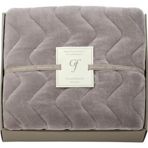 包装・のし無料*グランフランセ ヌーベル 吸湿発熱綿入りハイソフトタッチ敷きパット バイオレットグレー GFN8057 (お返し 結婚 出産 快気 法事 香典返し) breezebox