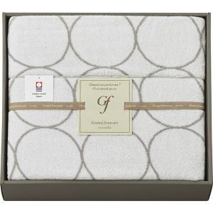 包装・のし無料*グランフランセ ヌーベル 今治製タオルケット ホワイト GFN41500 (お返し 結婚 出産 快気 法事 香典返し) breezebox