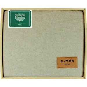 包装・のし無料*NIKKE カシミヤ糸使用毛布 CASH860008 (お返し 結婚 出産 快気 法事 香典返し)|breezebox