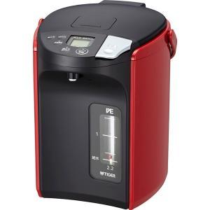 包装・のし無料*タイガー とく子さん 蒸気レスVE電気まほうびん2.2L レッド PIP-A220R (お返し 結婚 出産 快気 法事 香典返し) breezebox