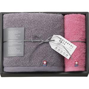カラフルデイズ バスタオル&ハンドタオル ピンク CL2530PI  内祝い ギフト 出産 結婚 快気 法事 breezebox