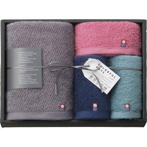カラフルデイズ タオルセット  ピンク CL255OPI  内祝い ギフト 出産 結婚 快気 法事 breezebox