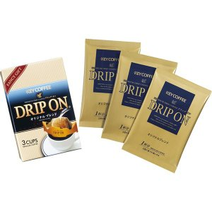 キーコーヒー ドリップオンギフト KPN-025(292467)  内祝い ギフト 出産 結婚 快気 法事|breezebox