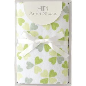 アンナ・ニコラ クローバー フェイスタオル グリーン A-35503  内祝い ギフト 出産 結婚 快気 法事 breezebox