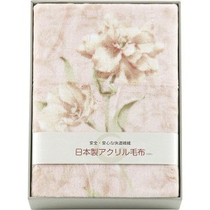 日本製 アクリルニューマイヤー毛布(毛羽部分) BSM-603  内祝い ギフト 出産 結婚 快気 法事 breezebox
