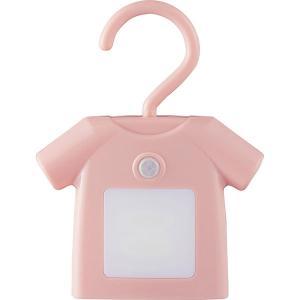 人感センサー付きクローゼットライト ティーシャツ ピンク EF-RL01PK  内祝い ギフト 出産 結婚 快気 法事 breezebox