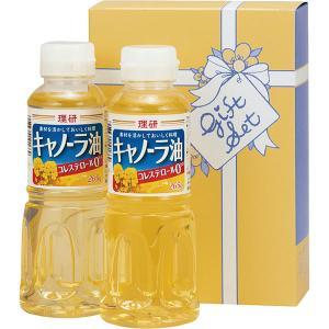 理研キャノーラ油セット ORK-600  内祝い ギフト 出産 結婚 快気 法事|breezebox