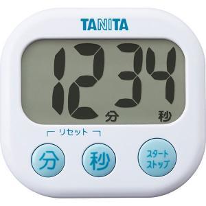 タニタ でか見えタイマー ホワイト TD-384WH  内祝い ギフト 出産 結婚 快気 法事|breezebox