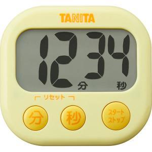 タニタ でか見えタイマー イエロー TD-384YL  内祝い ギフト 出産 結婚 快気 法事|breezebox