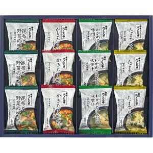 ろくさん亭 道場六三郎 スープ・味噌汁ギフト B-C12  内祝い ギフト 出産 結婚 快気 法事|breezebox