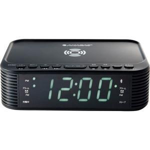 ANABAS ワイヤレススマホ充電 クロックラジオ CR-BT100  内祝い ギフト 出産 結婚 快気 法事|breezebox
