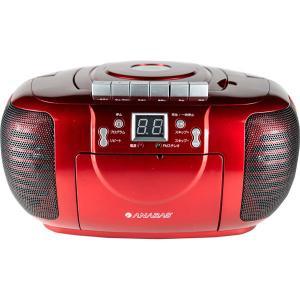 ANABAS CDラジオカセットレコーダー CD-CDB5 R  内祝い ギフト 出産 結婚 快気 法事|breezebox