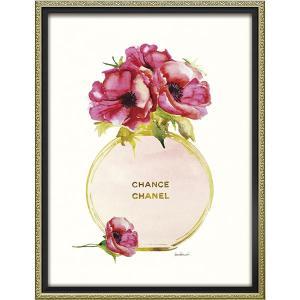 オマージュキャンバスアート ゴールドパフュームポピー BC-12024  内祝い ギフト 出産 結婚 快気 法事|breezebox