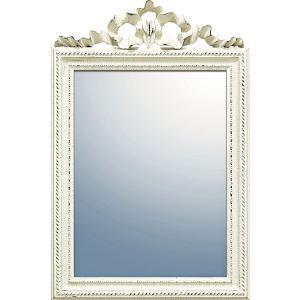 グレースアートミラー ガリア アンティークホワイト GM-05001  内祝い ギフト 出産 結婚 快気 法事|breezebox