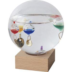 ガラスフロート温度計 ドーム(大) 333-210  内祝い ギフト 出産 結婚 快気 法事|breezebox