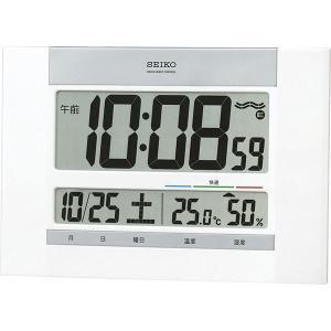 セイコー 電波デジタル掛置兼用時計 SQ429W  内祝い ギフト 出産 結婚 快気 法事|breezebox