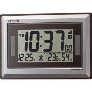 シチズン 温度・湿度表示ソーラー電源電波時計 8RZ182-019  内祝い ギフト 出産 結婚 快気 法事|breezebox