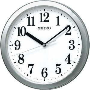 セイコー スタンダード電波掛時計 銀色メタリック KX256S  内祝い ギフト 出産 結婚 快気 法事|breezebox