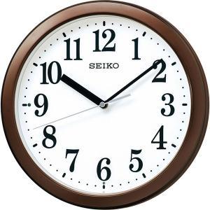 セイコー スタンダード電波掛時計 茶メタリック KX256B  内祝い ギフト 出産 結婚 快気 法事|breezebox