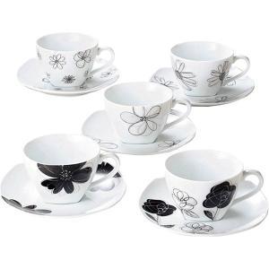 レノマ コーヒーカップ&ソーサー5客 28438  内祝い ギフト 出産 結婚 快気 法事|breezebox