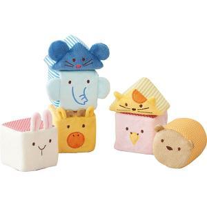 エド・インター 布のおもちゃ ふわふわアニマルブロック 813935 breezebox