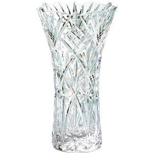 包装・のし無料*グラスワークスナルミ フローラ 25cm花瓶 GW8000-69250 (お返し 祝い 結婚 出産 快気 法事 香典返し) breezebox
