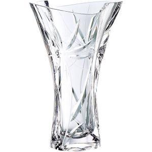 包装・のし無料*グラスワークスナルミ ガイア 25cm花瓶 GW3501-98255 (お返し 祝い 結婚 出産 快気 法事 香典返し) breezebox