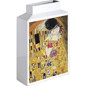 包装・のし無料*ミュージアムアートフラワーベース クリムト ザ・キス MV-05002 (お返し 祝い 結婚 出産 快気 法事 香典返し) breezebox