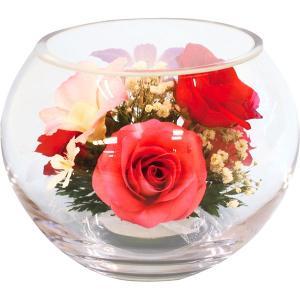 包装・のし無料*ボトルフラワー ボール型M D-0041 (お返し 祝い 結婚 出産 快気 法事 香典返し)|breezebox