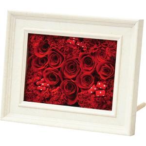 包装・のし無料*プリザーブドアレンジフレーム H18-565RH (お返し 祝い 結婚 出産 快気 法事 香典返し) breezebox