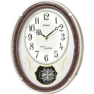 包装・のし無料*セイコー ウェーブシンフォニー 電波正時メロディ掛時計 AM259B (お返し 祝い 結婚 出産 快気 法事 香典返し)|breezebox