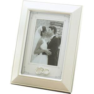 包装・のし無料*リング フォトフレーム 253-863 (お返し 祝い 結婚 出産 快気 法事 香典返し) breezebox