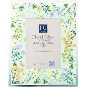 包装・のし無料*FGデザインフォトフレーム フィールドフラワーイエロー FF-02083 (お返し 祝い 結婚 出産 快気 法事 香典返し) breezebox