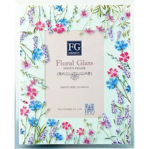 包装・のし無料*FGデザインフォトフレーム フィールドフラワーブルー FF-02086 (お返し 祝い 結婚 出産 快気 法事 香典返し) breezebox