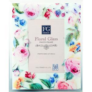 包装・のし無料*FGデザインフォトフレーム ピンクローズ FF-02082 (お返し 祝い 結婚 出産 快気 法事 香典返し) breezebox