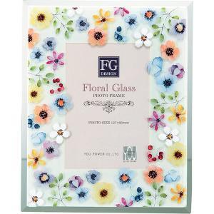 包装・のし無料*FGデザインフォトフレーム マルチフラワー FF-02099 (お返し 祝い 結婚 出産 快気 法事 香典返し) breezebox