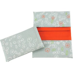 KUROCHIKU Link 名刺カードケース 椿グレー 21802130 (お返し 祝い 結婚 出産 快気 法事 香典返し)|breezebox