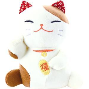 くろちく もちっとぐるみ 招き猫 71806661 (お返し 祝い 結婚 出産 快気 法事 香典返し)|breezebox