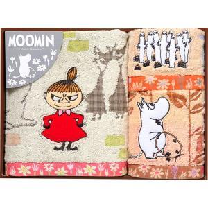 包装・のし無料*ムーミン ムーミン谷の日々 タオルセット MM-9136 (お返し 祝い 結婚 出産 快気 法事 香典返し) breezebox