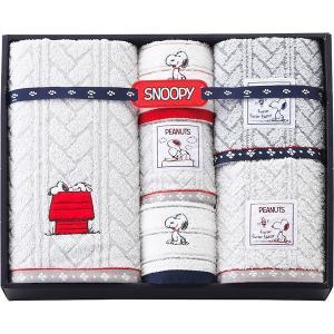 包装・のし無料*スヌーピー タオルセット 2276-11662 (お返し 祝い 結婚 出産 快気 法事 香典返し)|breezebox