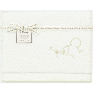 包装・のし無料*プレミアム ディズニー ホワイトハピネス バスタオル WB30694W (お返し 祝い 結婚 出産 快気 法事 香典返し)|breezebox