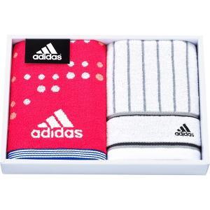 包装・のし無料*アディダス アストラル スポーツタオル&フェイスタオル ピンク AD2571 (お返し 祝い 結婚 出産 快気 法事 香典返し)|breezebox
