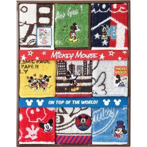 包装・のし無料*ディズニー ミッキーマウス ミッキーファン ミニタオル9P DS-5550 (お返し 祝い 結婚 出産 快気 法事 香典返し)|breezebox