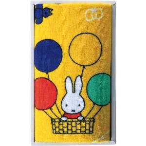包装・のし無料*ミッフィー バルーンミッフィー フェイスタオル MF-0705 (お返し 祝い 結婚 出産 快気 法事 香典返し)|breezebox
