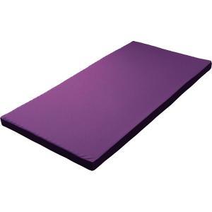 西川リビング ラクラスマート 体圧分散敷きふとん(丸巻き) パープル 2461-00267 (安眠 快眠 健康 肩こり 腰痛 新生活 )|breezebox