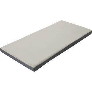 西川リビング ラクラ 体圧分散敷きふとん(丸巻き) シルバー 2460-10300 (安眠 快眠 健康 肩こり 腰痛 新生活 )|breezebox
