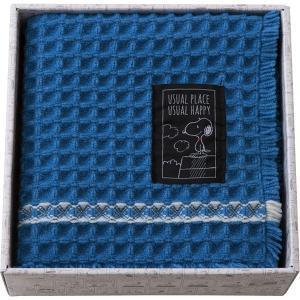 包装・のし無料*スヌーピー ユージュアル バスマットギフト ブルー 91274 (お返し 祝い 結婚 出産 快気 法事 香典返し)|breezebox