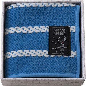 包装・のし無料*スヌーピー ユージュアル キッチンマットギフト ブルー 91276 (お返し 祝い 結婚 出産 快気 法事 香典返し)|breezebox