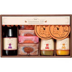 包装・のし無料*ロディ ジュース&クッキーセット ROJ-15 (お返し 祝い 結婚 出産 快気 法事 香典返し)|breezebox