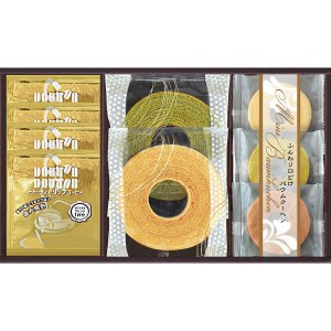 50%OFF 包装・のし無料*ドトールコーヒー&スイーツバラエティ FKDH-CJ(お返し 結婚 出産 初節句 入園 入学 新築 快気 法事)|breezebox